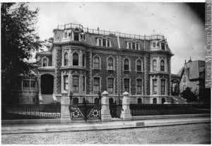 Duncan McIntyre house, Dorchester Street, Montreal, QC, about 1880