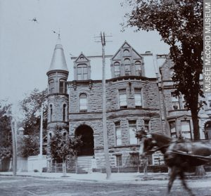 Robert Stanley Bagg's residence, Sherbrooke Street, Montreal, QC, 1903